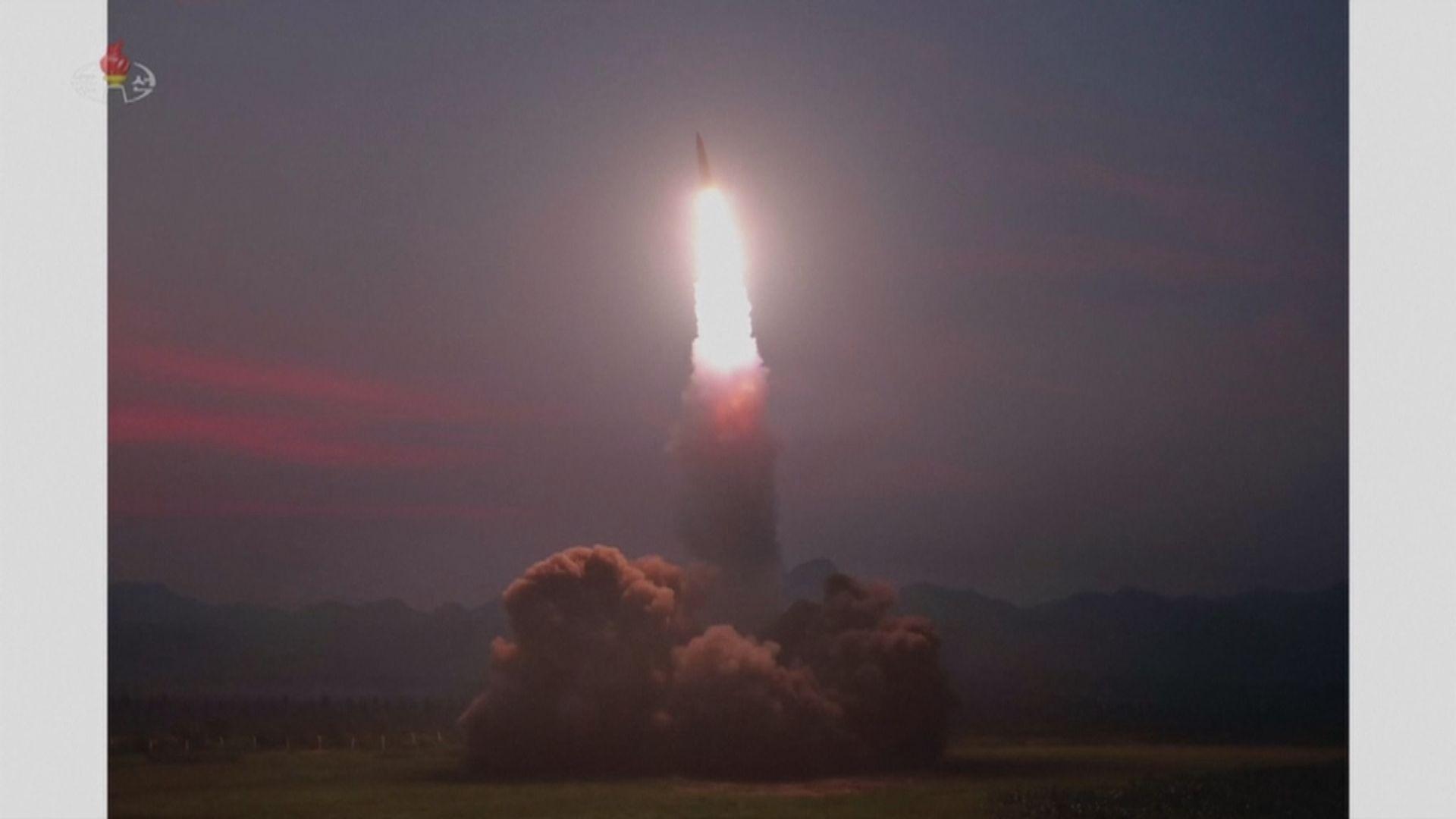北韓七月底以來第五度發射飛行物