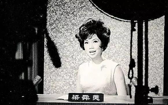 曾擔任播音員的梁舜燕。