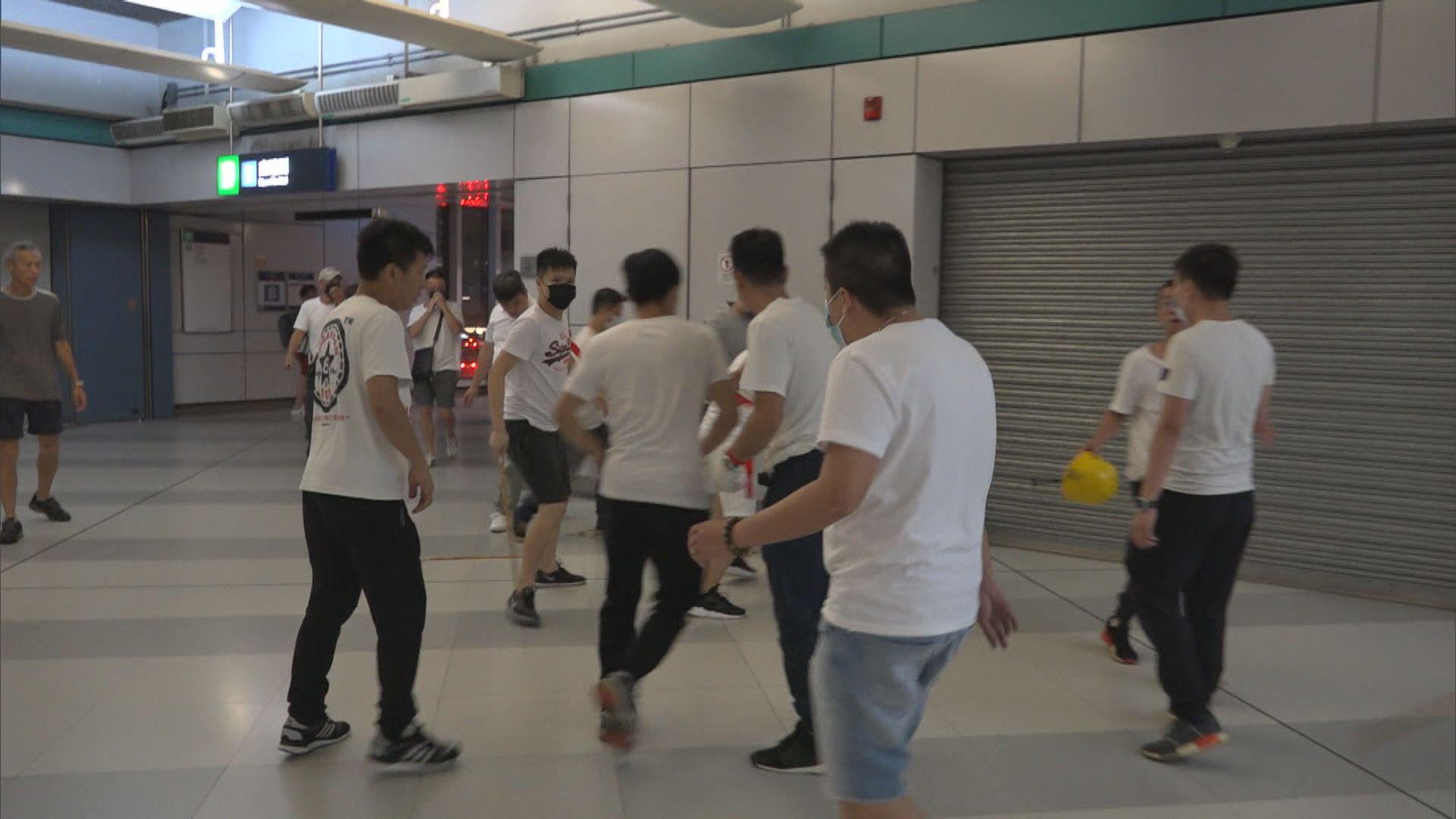 721元朗襲擊事件兩人被控參與暴動 明提堂