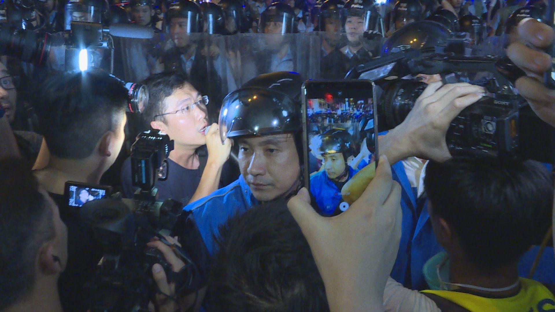 警方拘捕區諾軒 涉九龍遊行當天阻差辦公及襲警