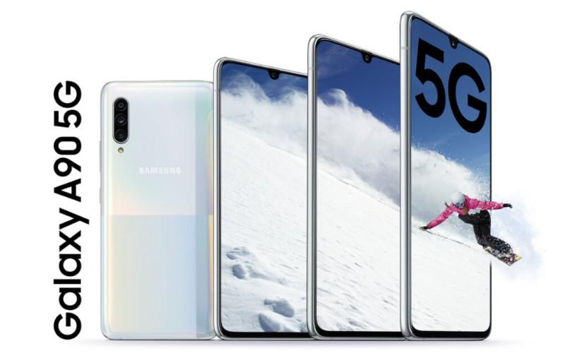 有Snapdragon 855 及支援5G﹐Galaxy A90 5G 正式發佈!