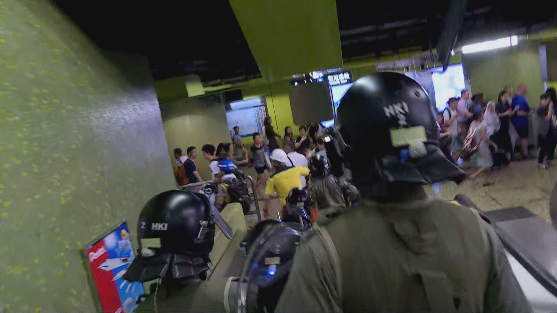 【不斷更新】網民發起集會並遊行到美領館