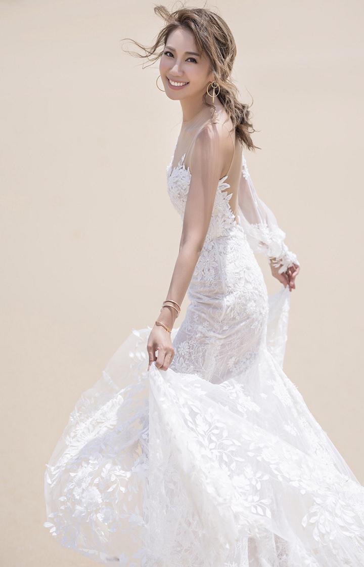 Jessica@SG日本影婚紗相 笑指未婚夫「煩過女人」