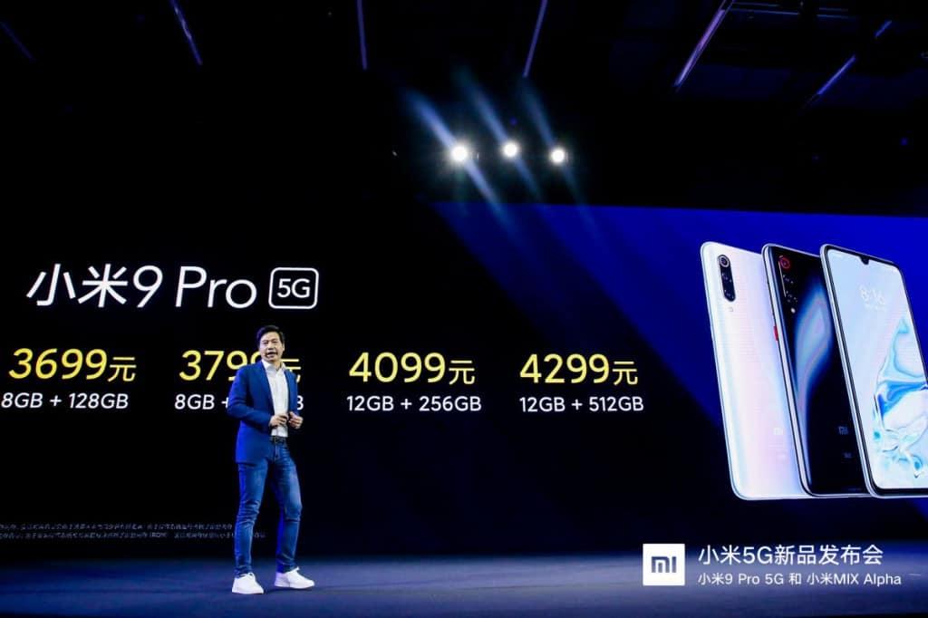 改用 Snapdragon 855+ 及支援5G, 小米 9 Pro 5G 正式發佈!