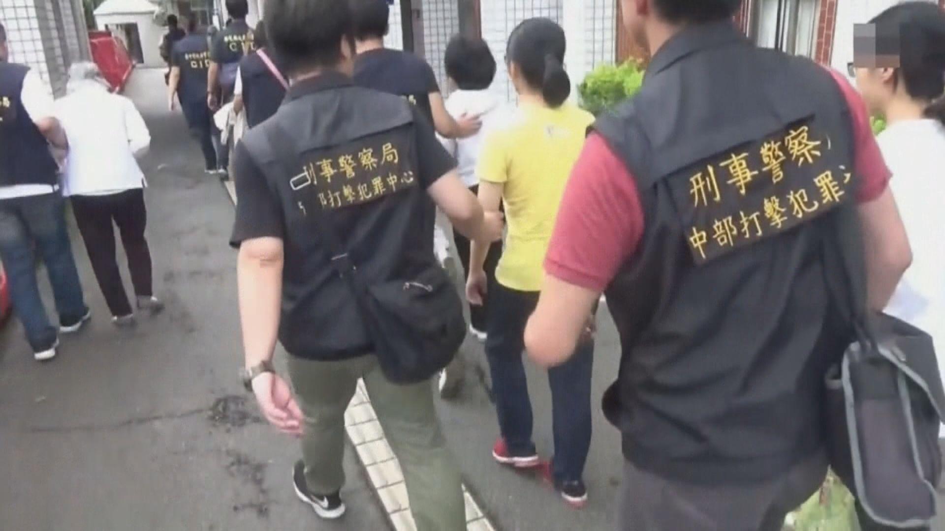 台灣警方搗破懷疑邪教組織拘八人