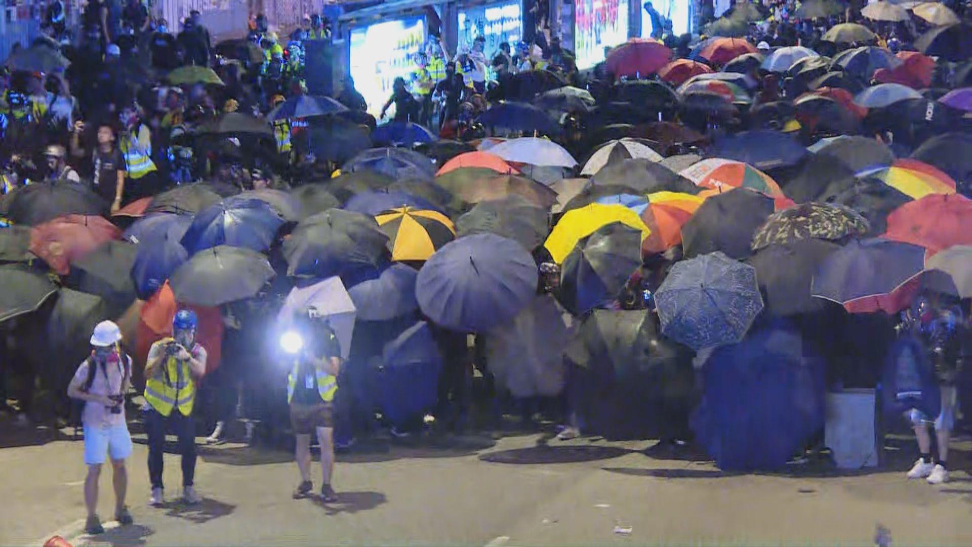 【不斷更新】佔領五周年民陣添馬公園集會 有示威者聚集