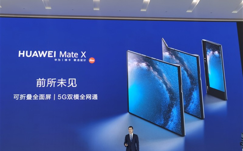 折合約$18,821港元,HUAWEI 折疊式屏幕手機 Mate X 5G 於國內發表!