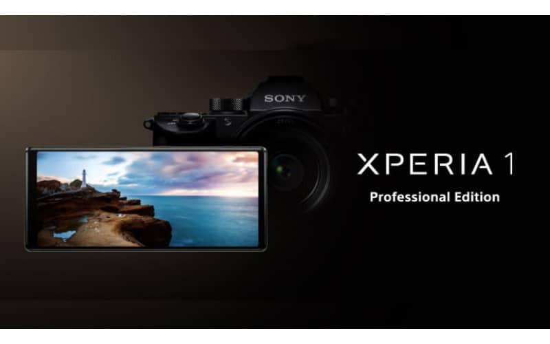 專為專業攝影師打造,SONY Xperia 1 Professional Edition 正式發佈!