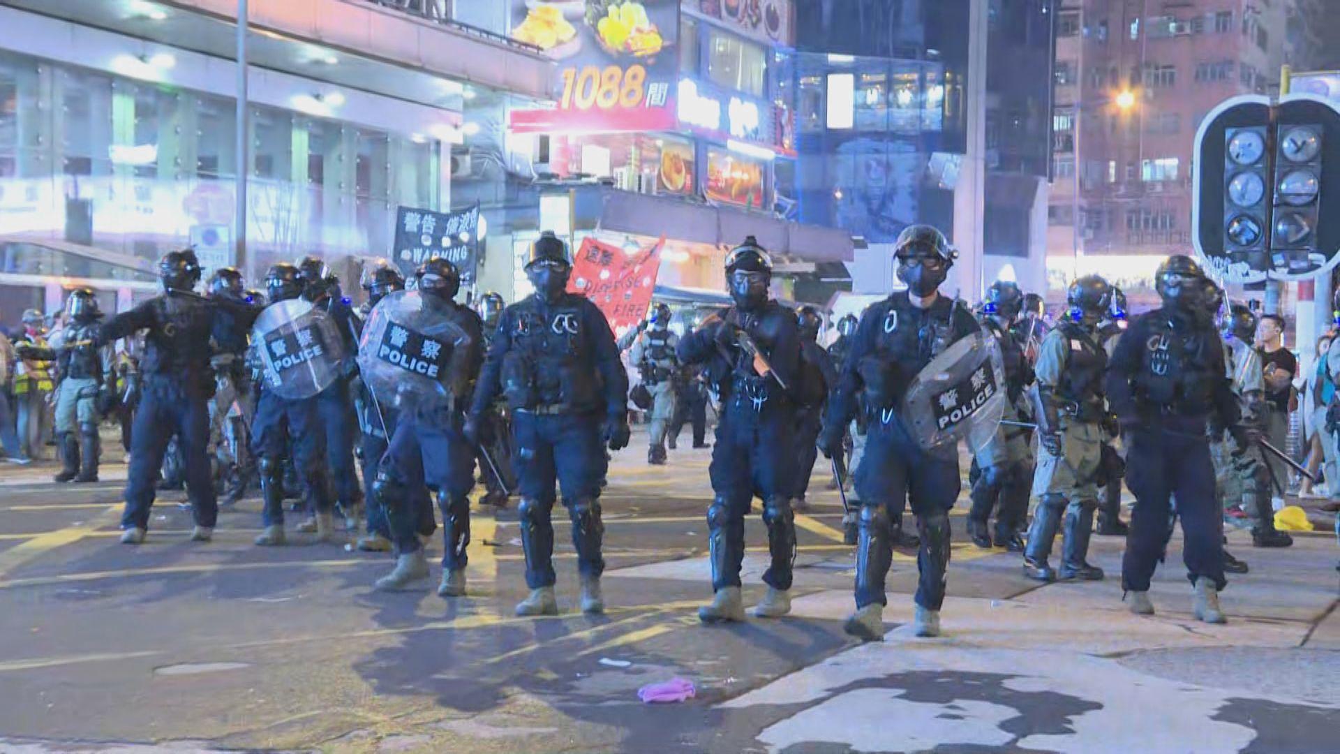 【不斷更新】入夜後大批示威者在旺角一帶聚集