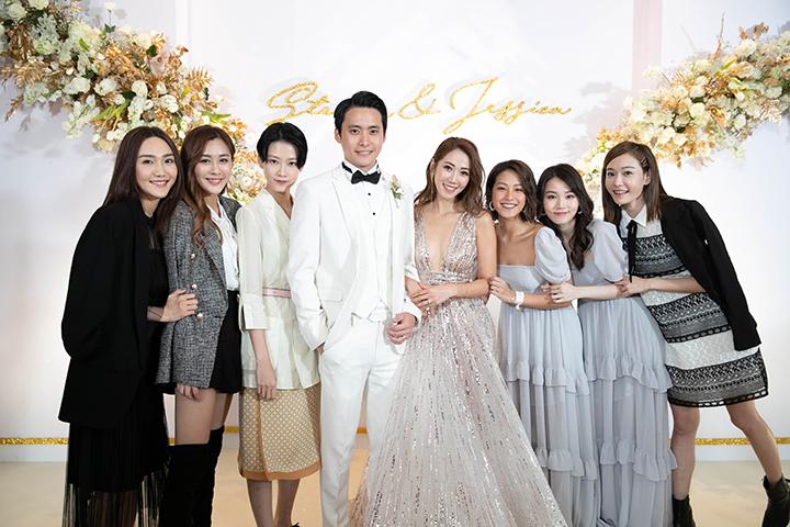 Jessica@SG性感出嫁做陳太 余香凝爭贏花球恨拍拖