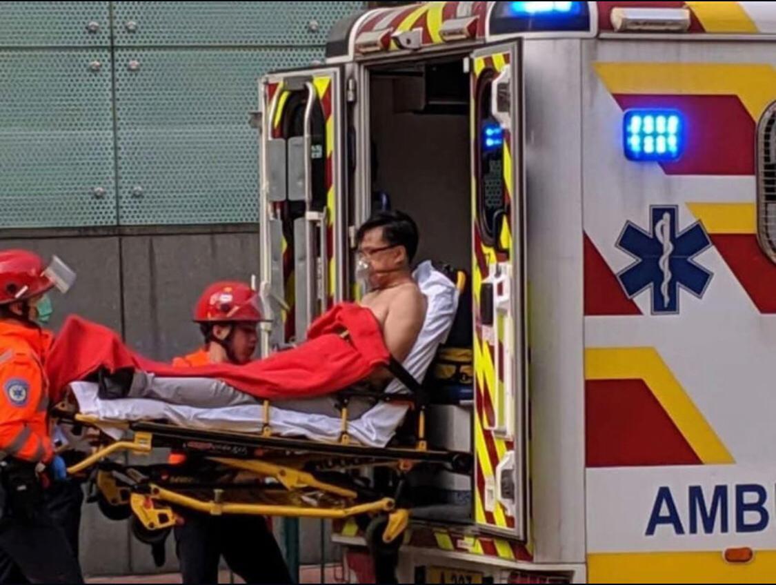 【最新‧多圖】何君堯屯門遇襲受傷 一男子被捕