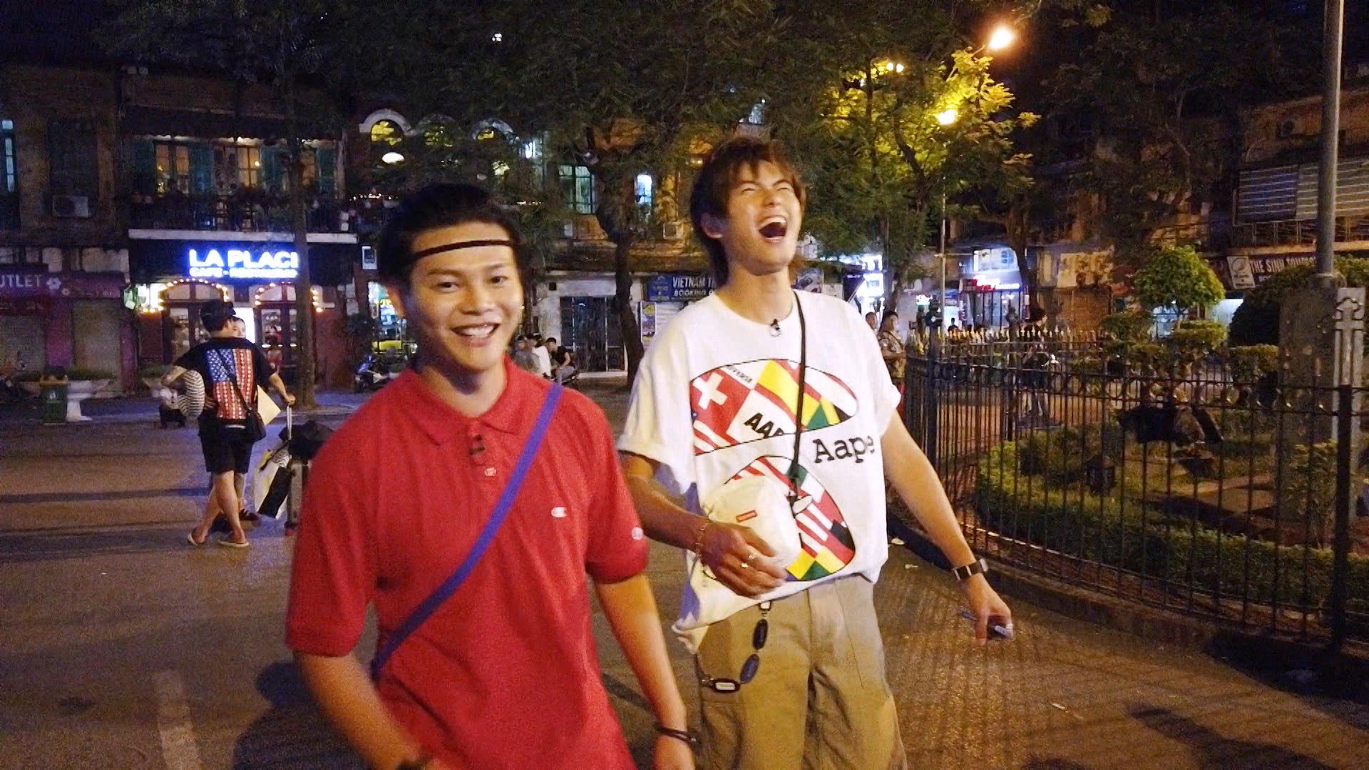 2人笑指自己是吳亦凡、溝女霸王。