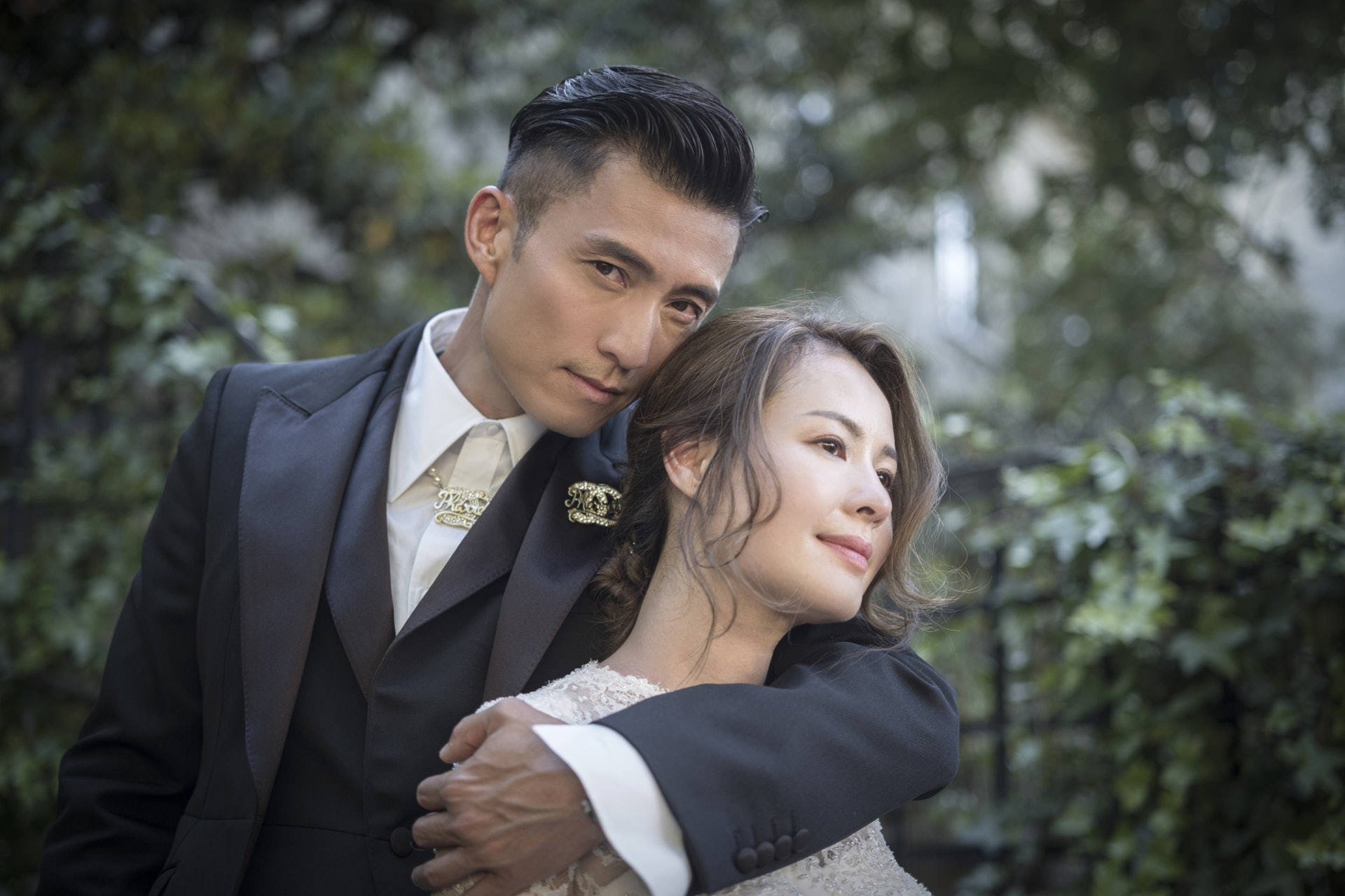 陳山聰剛與圈外女友結婚。