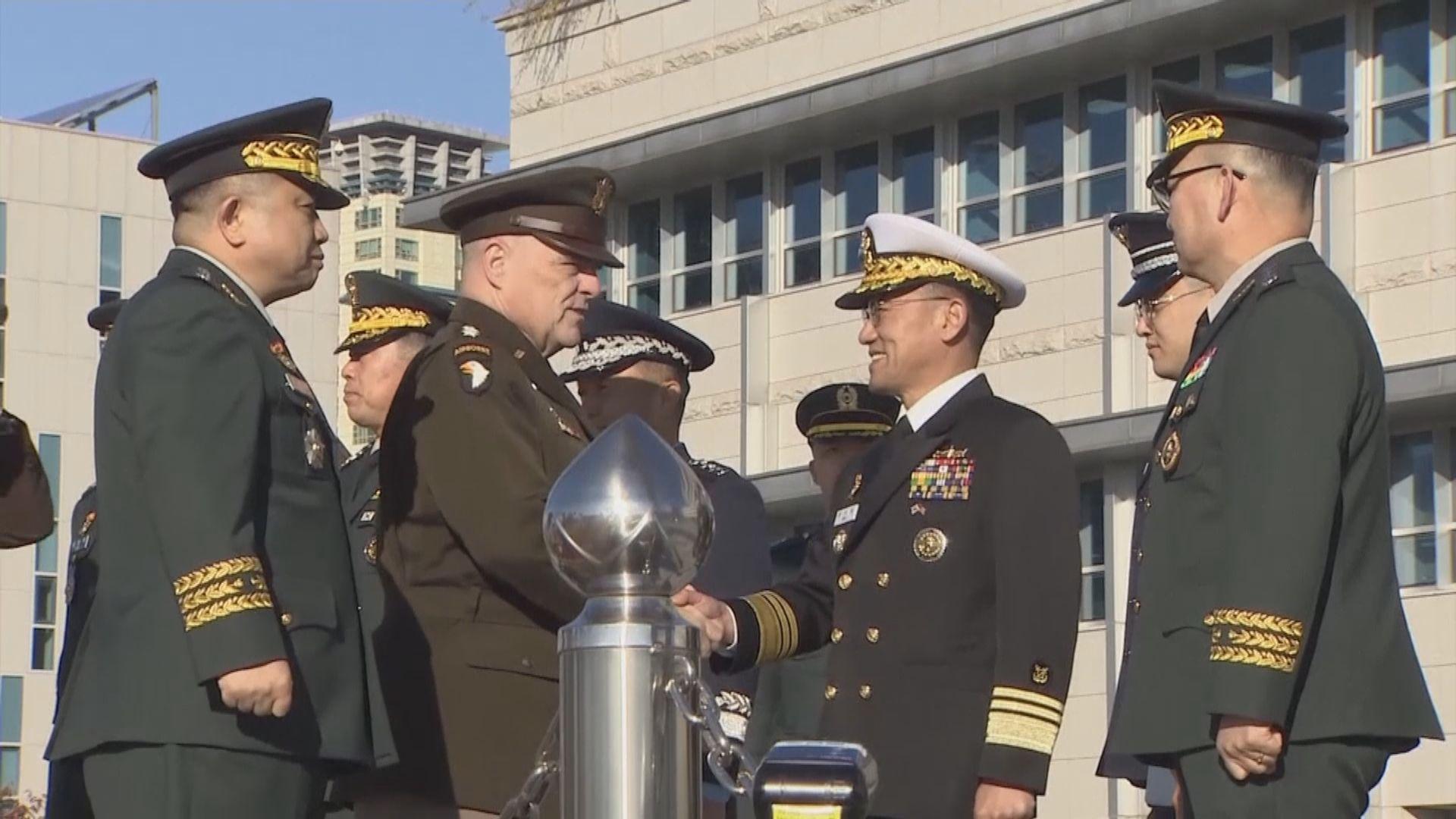 美韓軍事委員會討論朝鮮半島安全形勢