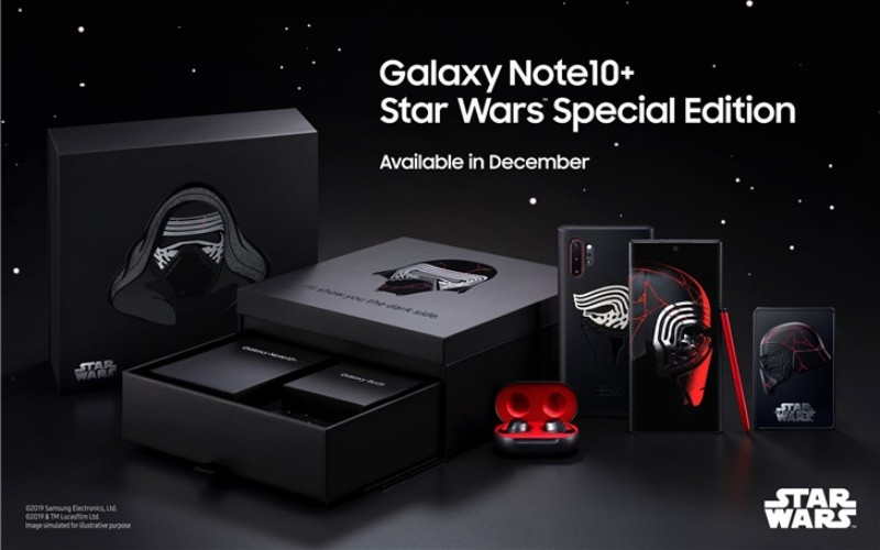 香港有份!Samsung Galaxy Note 10+ 推出 STAR WARS 特別版
