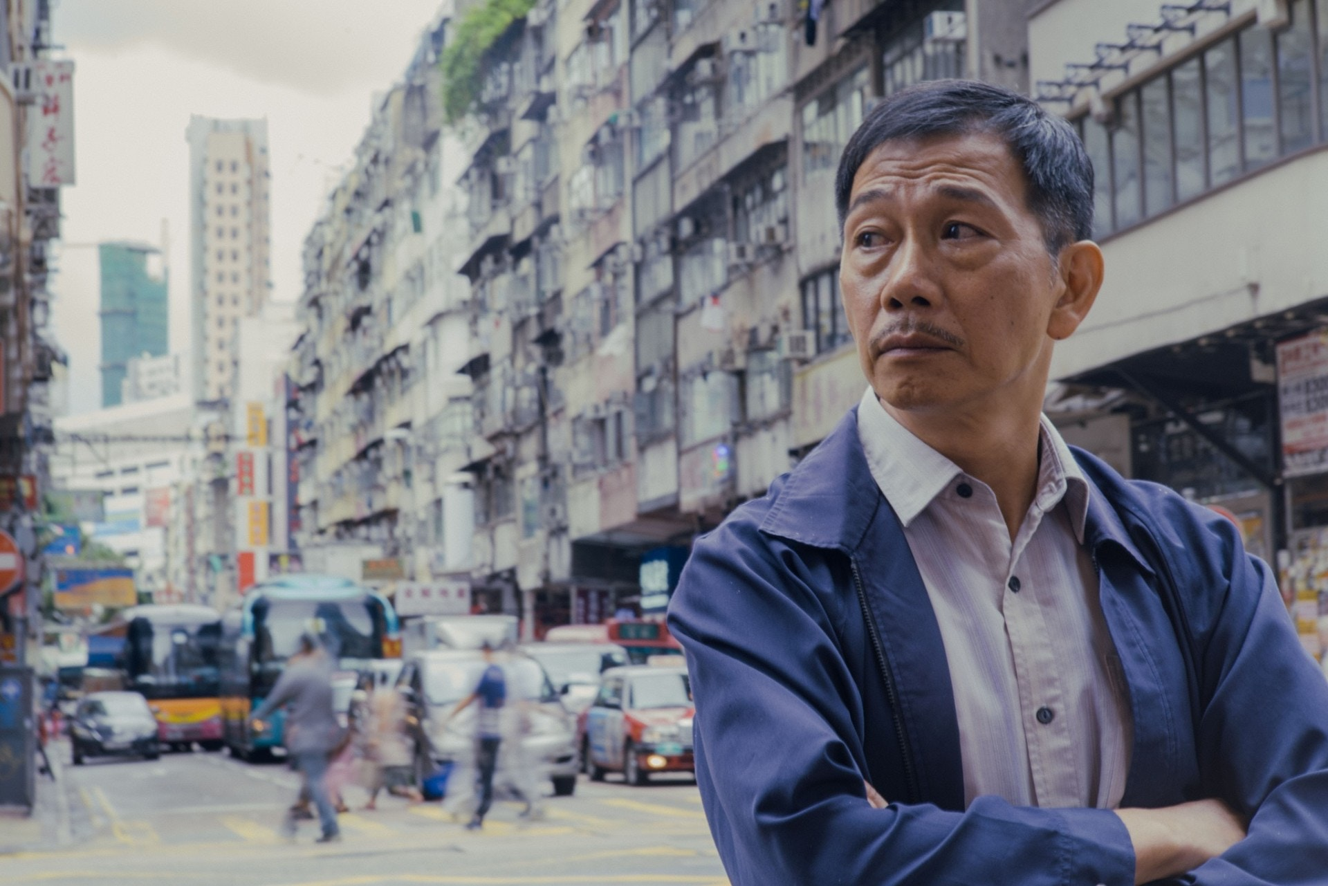 袁富華去年憑《翠絲》贏得金馬獎最佳男配角,在電影《叔‧叔》,與太保飾演一對同志。