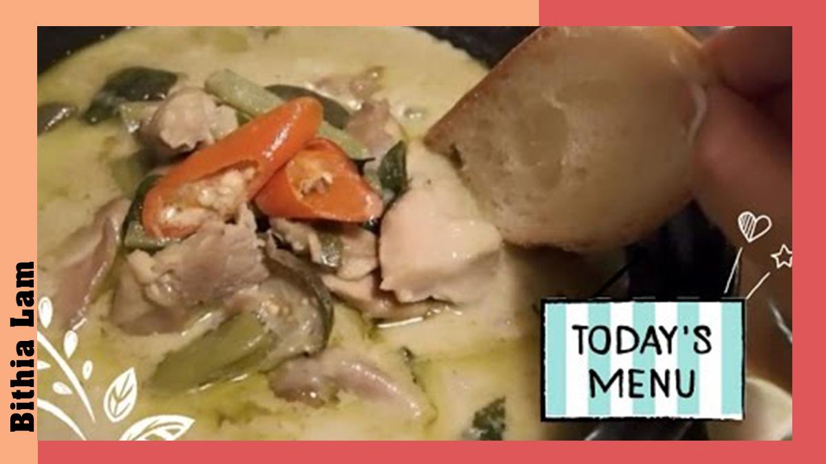 〈好食〉送飯一流!自製泰式青咖喱雞~