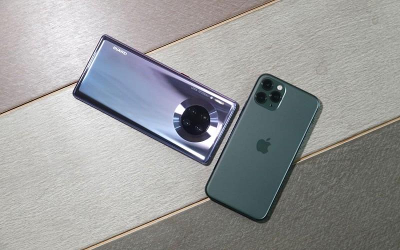 [攝力頂上對壘]HUAWEI Mate 30 Pro VS Apple iPhone 11 Pro!