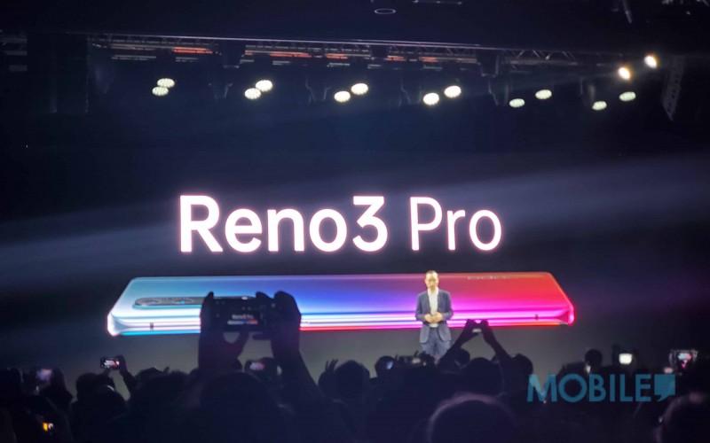 四鏡頭及曲面屏幕 OPPO Reno 3 Pro首度於發布會上亮相!