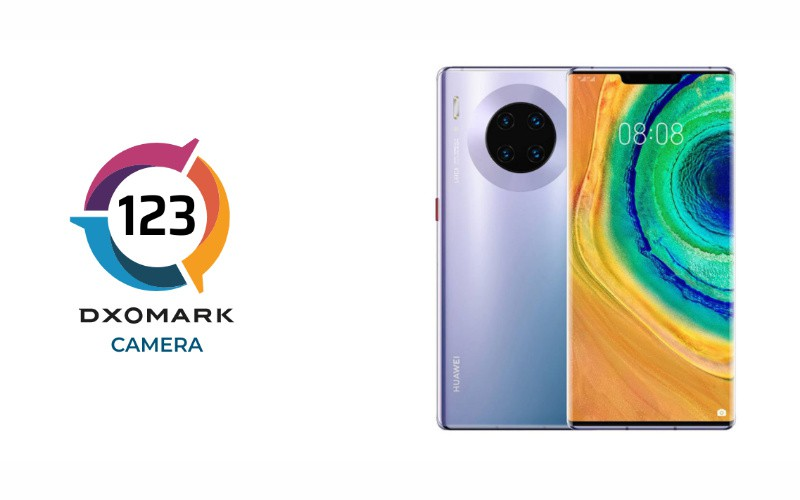 HUAWEI Mate 30 Pro 5G 再以 123 分再登 DXOMARK 榜首!