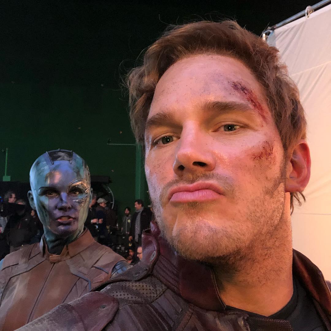 Chris Pratt(右)