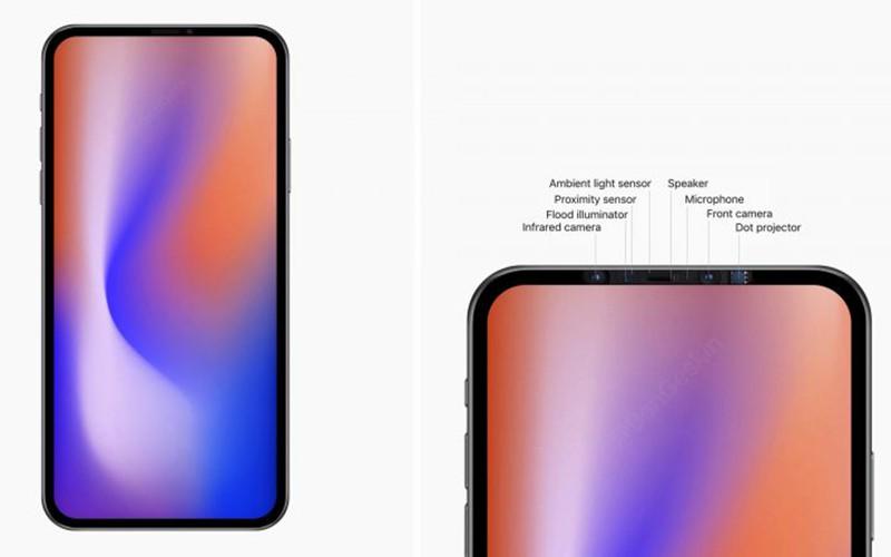 2020 新 iPhone 或將拿掉瀏海,改用屏下鏡頭 + 屏下指紋