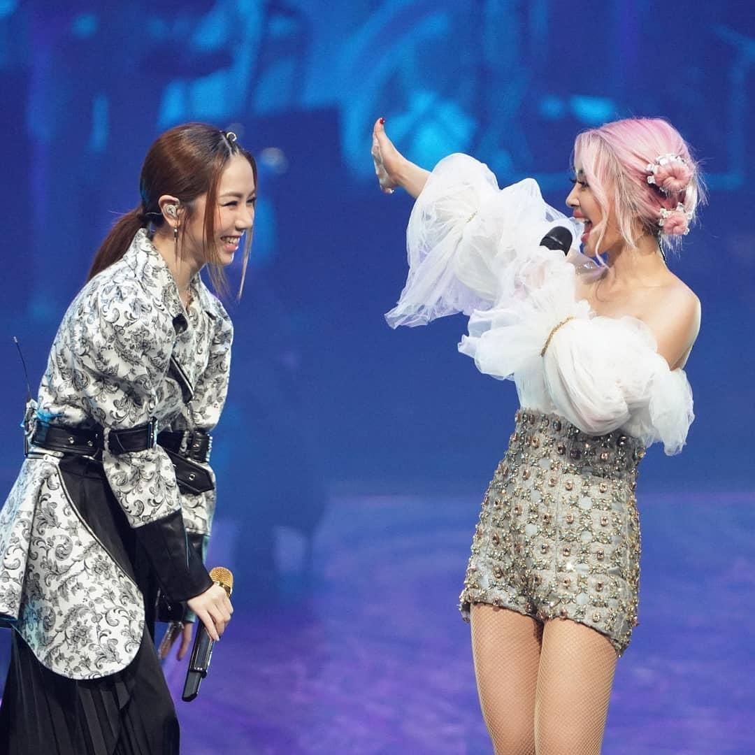 【紫菜組合】赴台做蔡依林演唱會嘉賓 鄧紫棋秒變小迷妹