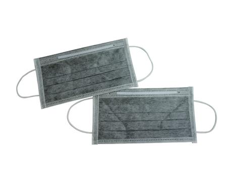 活性碳口罩:主要作阻隔異味用