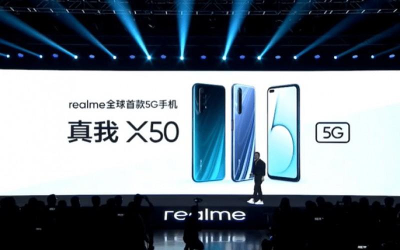 性價比5G手機?Realme X50 5G 發布!