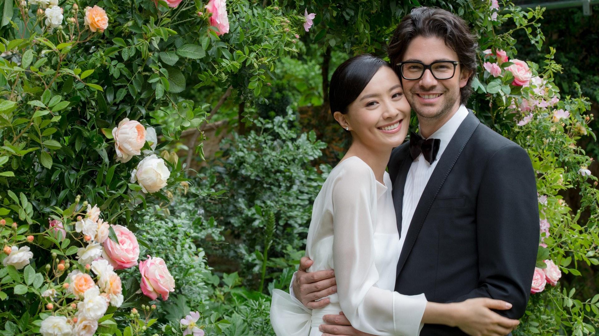 陳法拉去年5月公布與法藉男友結婚
