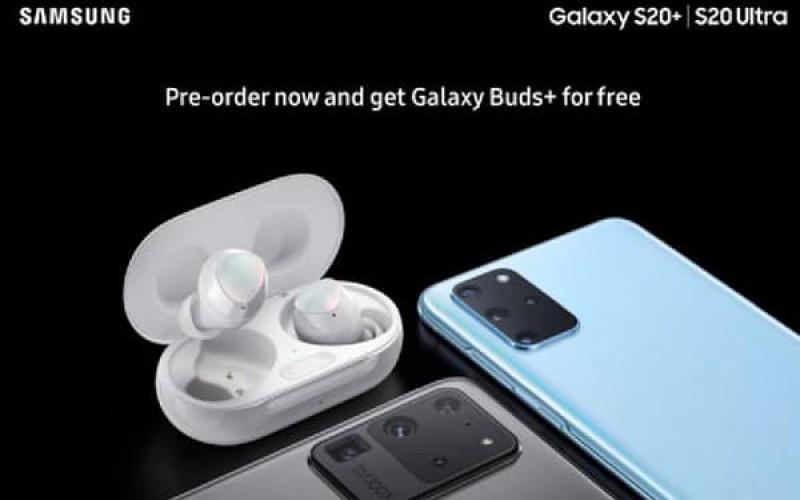 訂購 Galaxy S20系列即送 Galaxy Buds? 預售海報曝光!