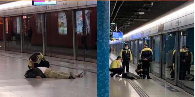 【網上傳聞】流傳多張乘客不適照片 港鐵:與疫情無關