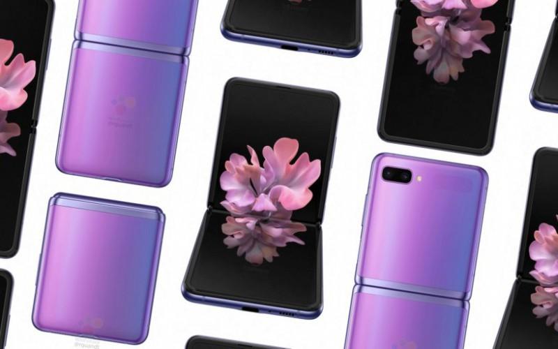 SAMSUNG 新摺機就咁樣? Galaxy Z Flip 渲染圖曝光!