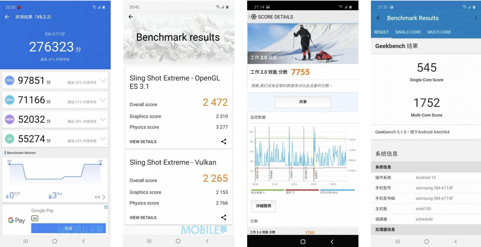 SAMSUNG Galaxy A71 外觀效能全面試!