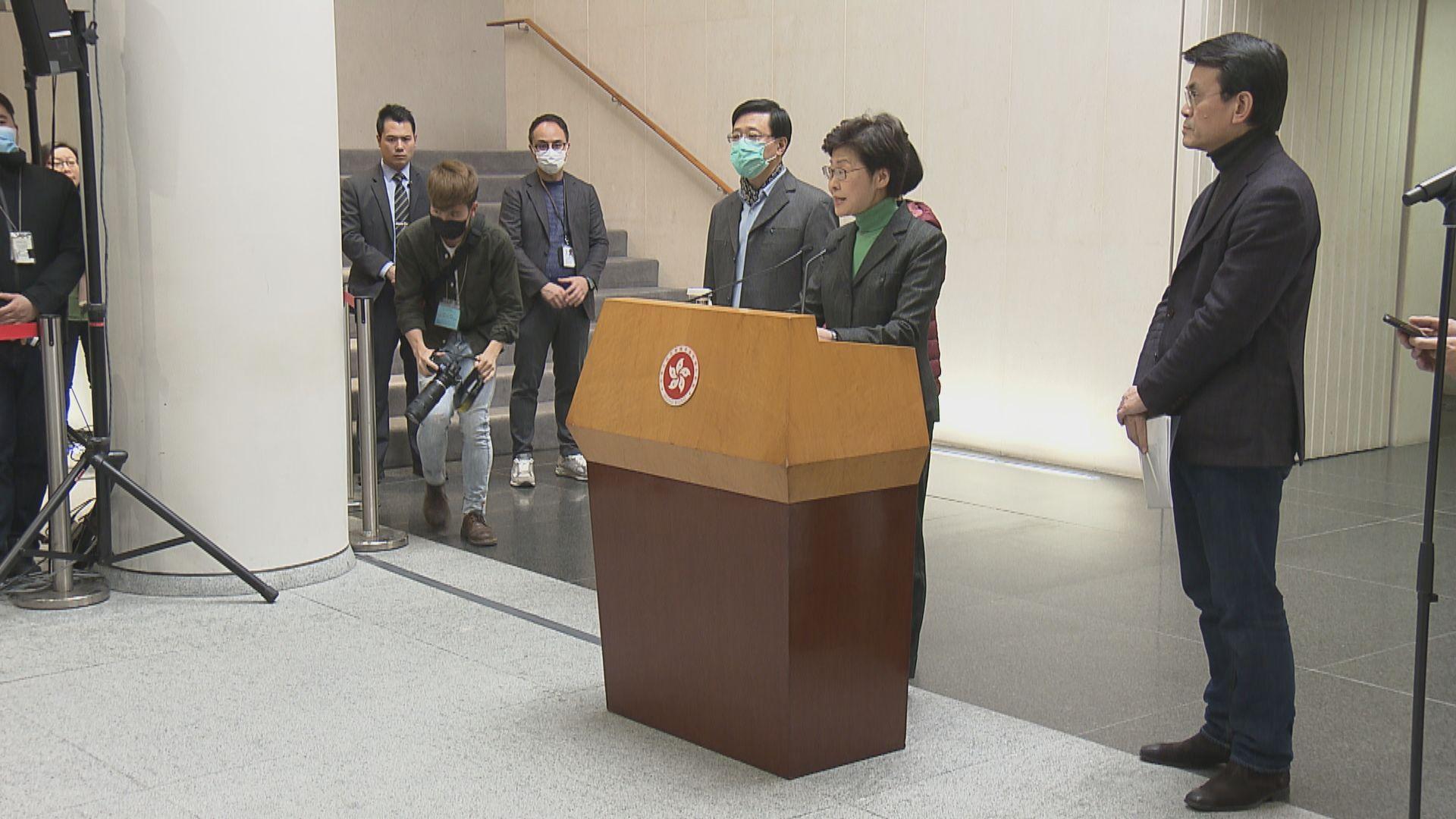 【最新】林鄭月娥:經協調後過去一個月獲內地供應1700萬個口罩