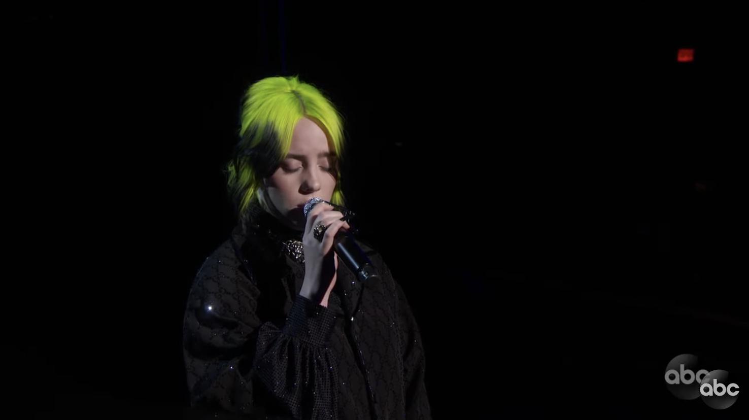 【奧斯卡】18歲Billie Eilish唱Yesterday 悼念高比拜仁高以翔