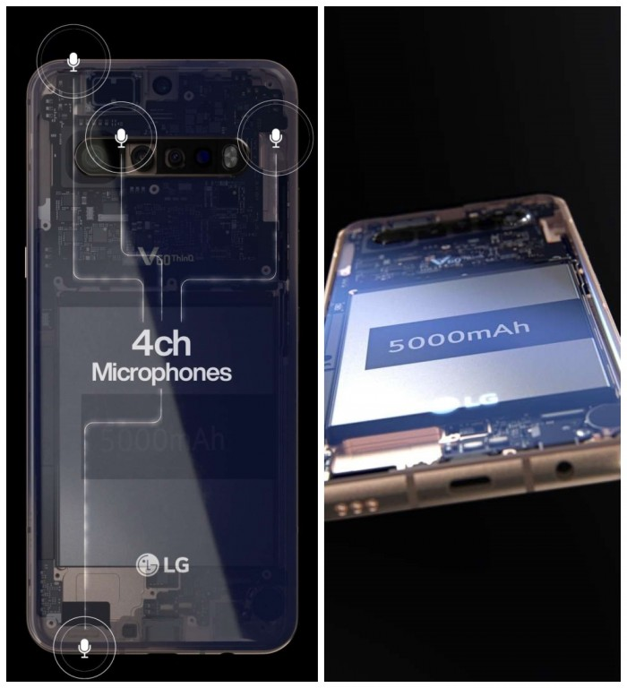 LG V60 ThinQ官方曝光   4個收音咪+3.5mm耳機保留