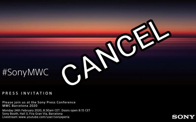 SONY 宣布退出於西班牙巴塞隆那舉行的MWC 2020!
