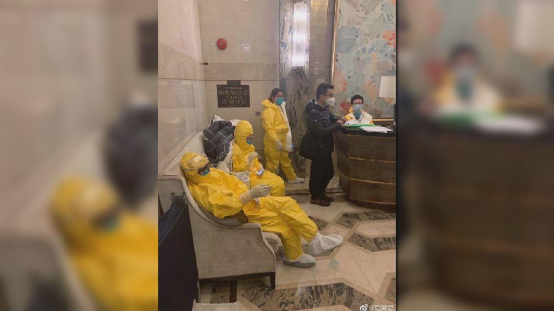 廣州一棟住宅大廈現多宗確診個案 全部住戶緊急疏散