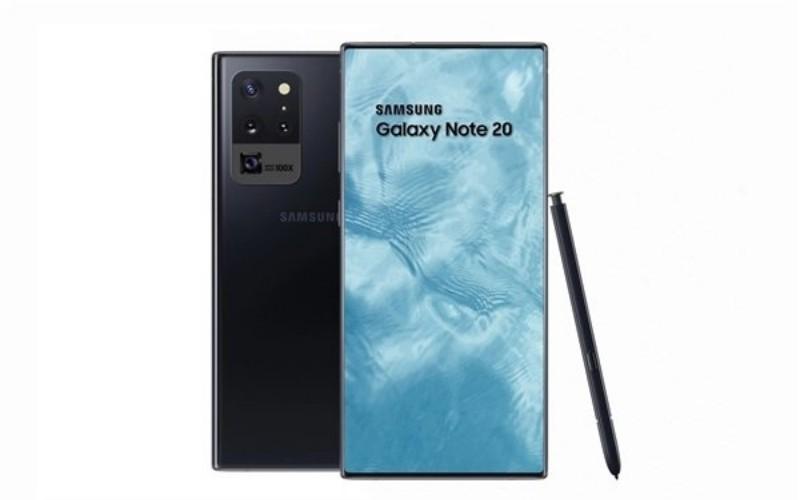 搭載屏下鏡頭技術及支援100倍變焦,Galaxy Note 20 規格曝光!