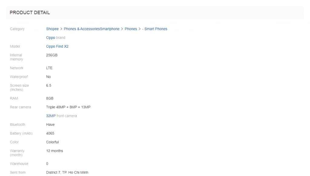 OPPO Find X2將於3月6日發佈?