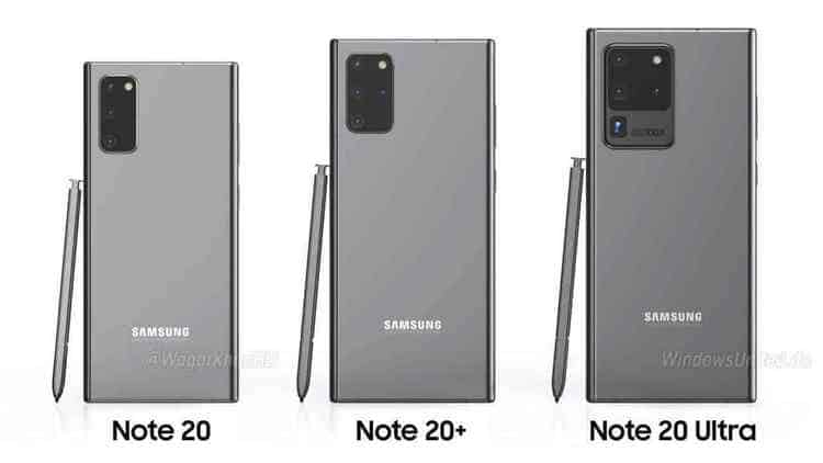 SAMSUNG Galaxy Note 20系列或提早至7月發布,將搭載屏下鏡頭技術
