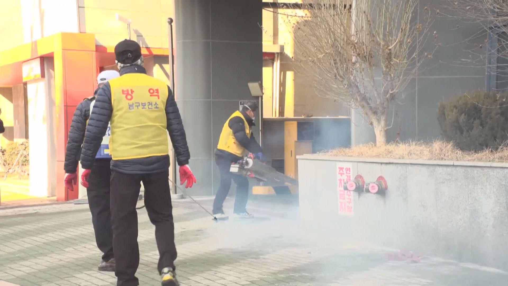 南韓再多231人確診 累計8人死亡
