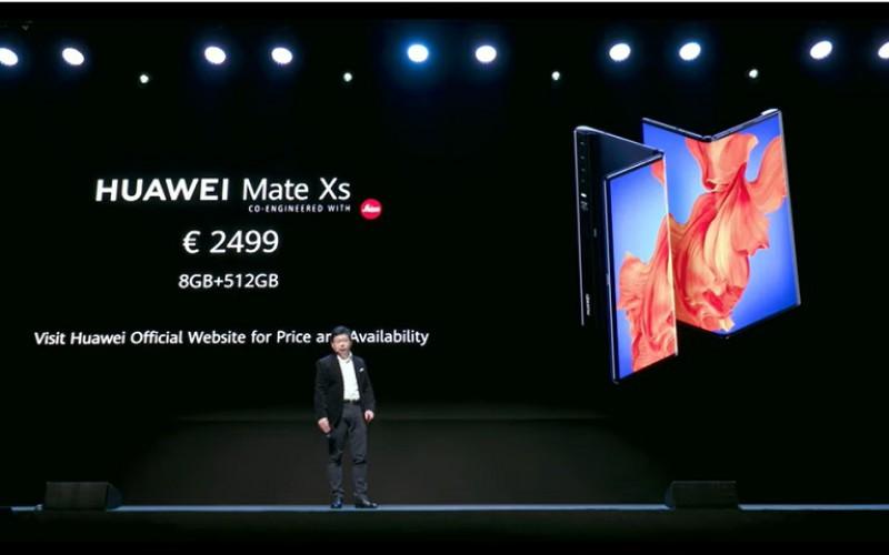 改用更強處理器及增強折疊鉸鏈的強度,HUAWEI Mate Xs 開價兩萬!