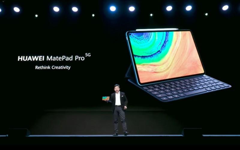 平板電腦都玩開孔屏?HUAWEI Mate Pad Pro 發布!