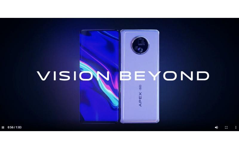 搭載前置屏下鏡頭及120度全視一體屏幕,vivo APEX 2020 發布!