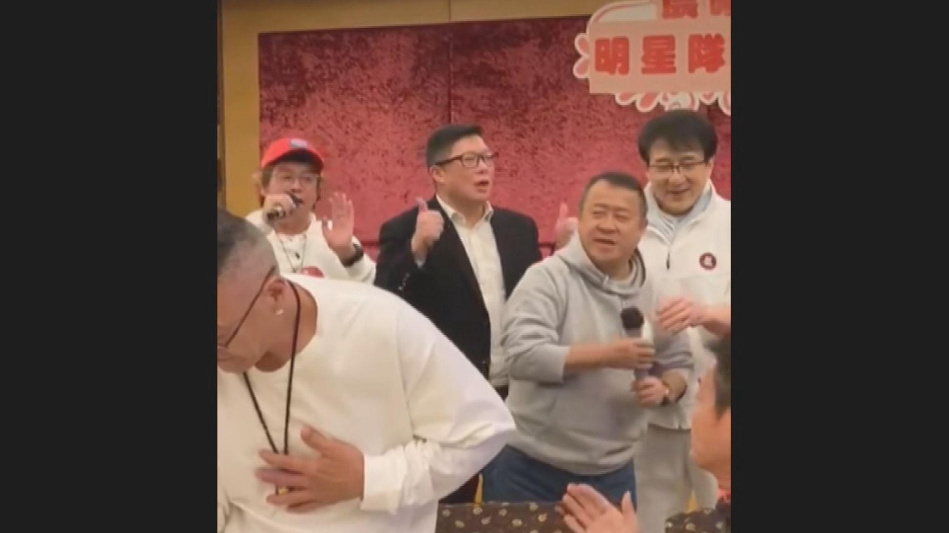 鄧炳強:藝人飯局表達幽默 有人如獲至寶小題大做