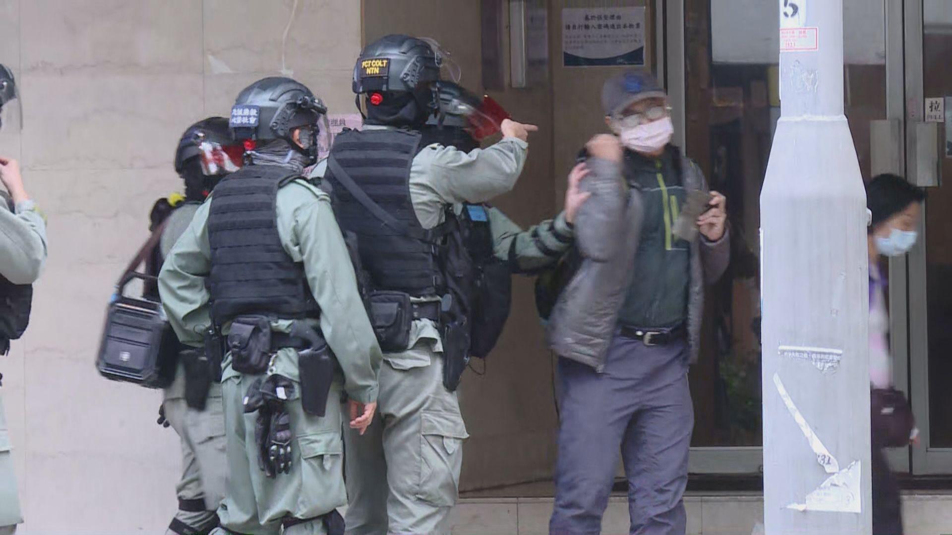 網民大埔集會反對設指定診所 多人被警方制服帶走