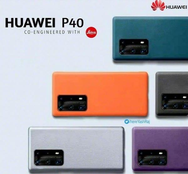 HUAWEI P40 Pro 五鏡規格曝光,主鏡頭尺寸更大