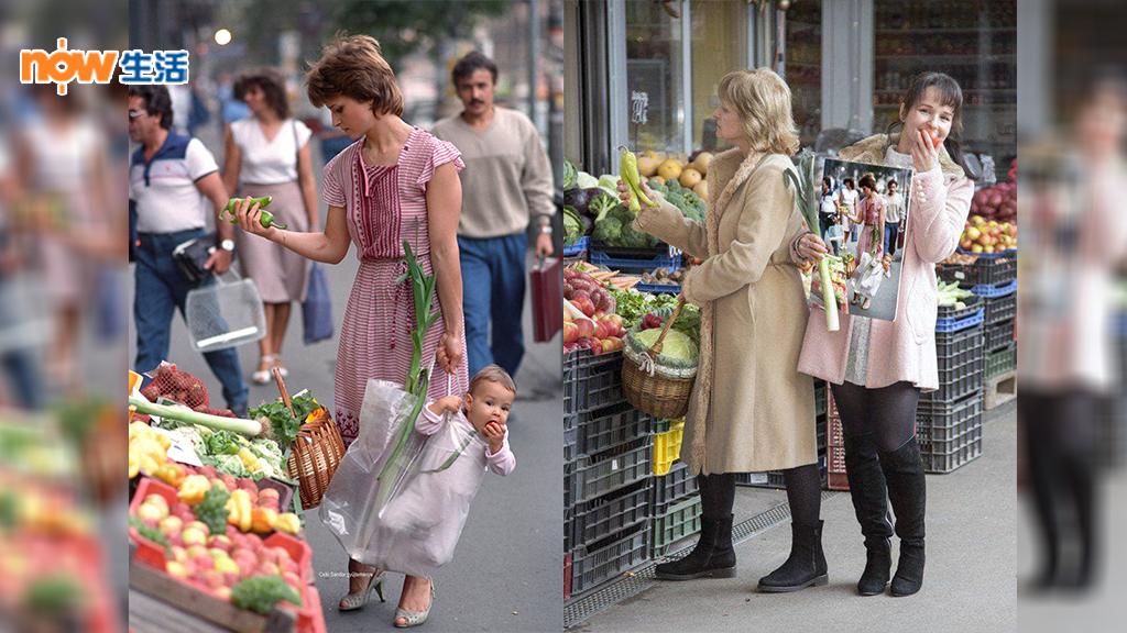 【戴妃撞樣】女子膠袋裝嬰兒買餸相片 33年後爆紅